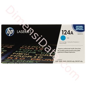 Jual Tinta / Cartridge HP Cyan Toner 124A [Q6001A]